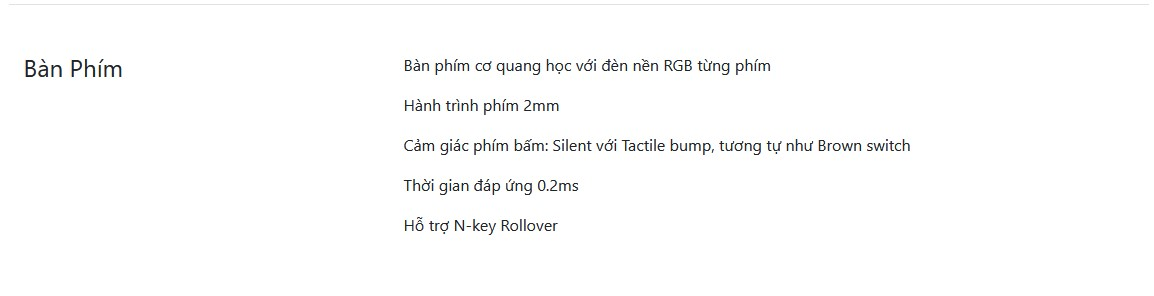 Keyboard của laptop Imperium by VGS & Intel